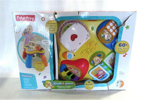 fisher price laugh and learn puppy table fisher price laugh learn puppy friends learning table