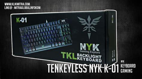 Keyboard Gaming Nyk Tkl K 01 keyboard gaming nyk tkl k01