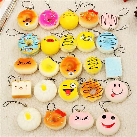 Squishy Mini Cone 12pcs jumbo mini squishy bread scented panda toast donuts