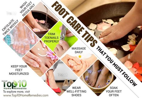 Foot Care 10 foot care tips that you must follow top 10 home remedies