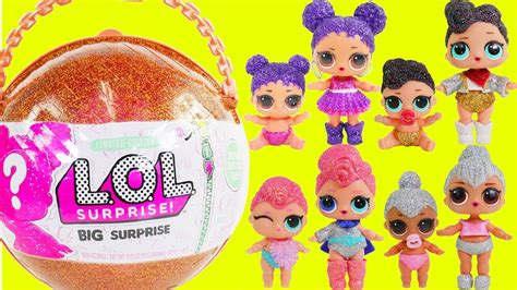 Lol Glitter Series lol dolls lil big