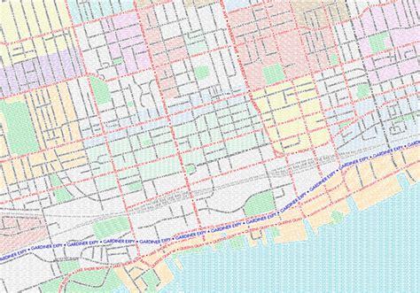 map of toronto toronto gets another neighbourhood map