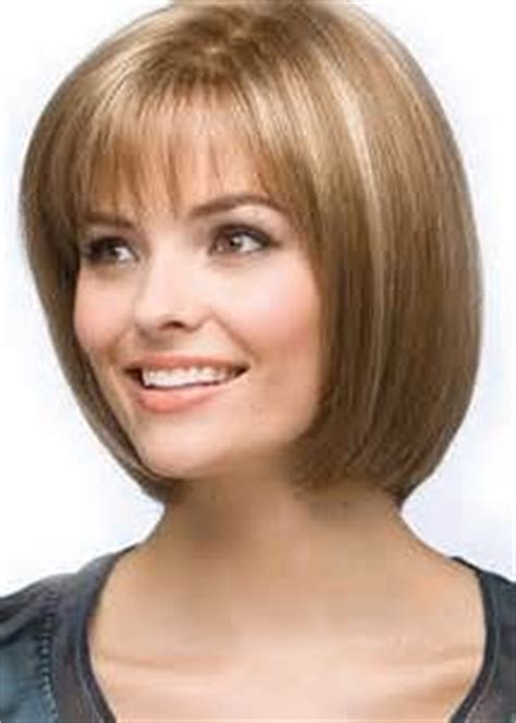 chin length bob for pover 50 on pinterest angled bob short hair blonde highlights and lowlights my