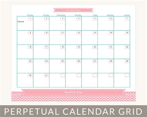 printable calendar at a glance 7 best images of month at a glance printable blank month