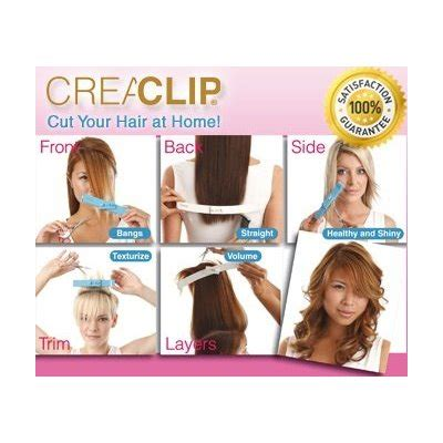 how to use the crea clip for side swept bangs andeline s blog the magical creaclip tool dvd up for