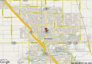 modesto california map map of rodeway inn modesto modesto