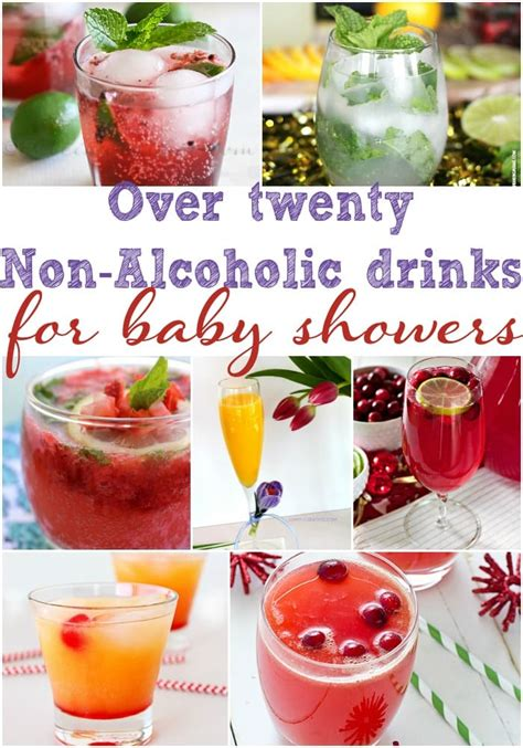 Pink Non Alcoholic Drinks For Baby Shower by 20 Baby Shower Drinks Baby Shower Ideas
