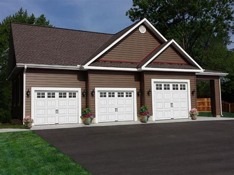 three car garage plan 009g 0005 garage plans and garage blue prints from