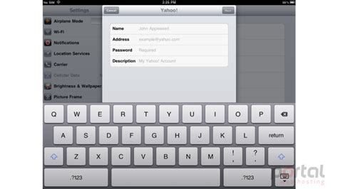 yahoo email on ipad how to setup a yahoo email account on your ipad