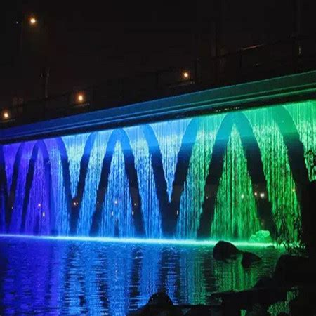 digital water curtain factory supply  fountain