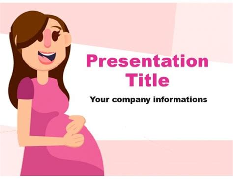 pregnancy powerpoint templates pregnancy powerpoint template free