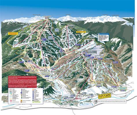 ski resort map usa beaver creek piste maps