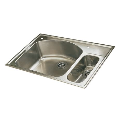 brushed steel kitchen sink shop american standard culinaire 22 in x 33 in brushed