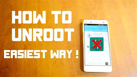 how to unroot android how to unroot android device the tech journal