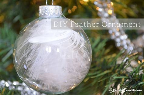 a burst of beautiful easy diy christmas ornaments