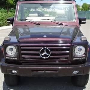 Mercedes G Wagon Suv Mercedes G Wagon Convertible 1985 280 Cabrio Suv
