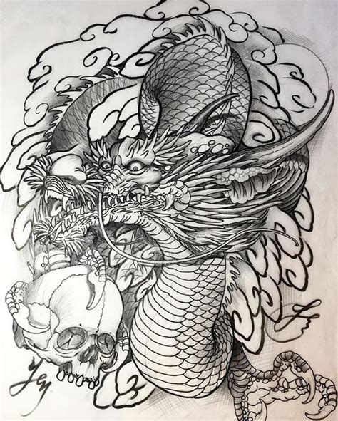 609 best eastern dragon images on pinterest japan tattoo