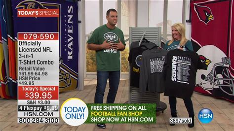 hsn football fan shop hsn football fan shop season kick 09 04 2016 12 am