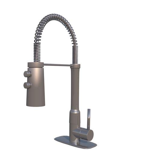 Faucet Models by Kitchen Faucet 3d Model 3dhunt Co