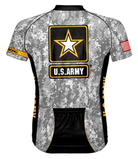 Kaos U S Army primal wear u s army camo shortsleeve cycling jersey with