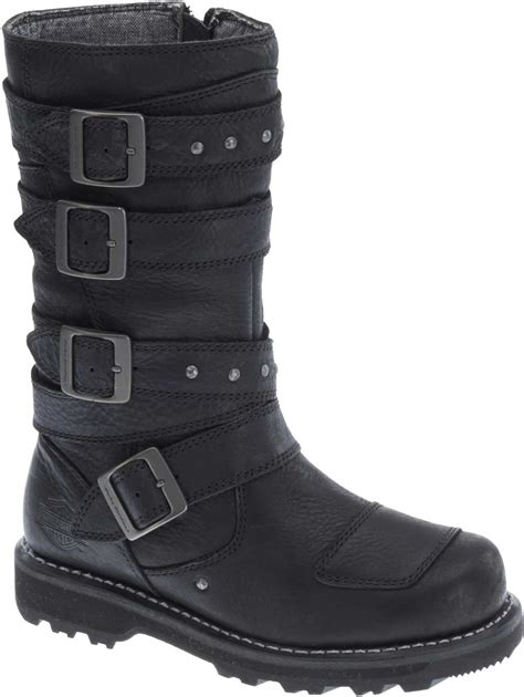 harley davidson motorcycle boots harley davidson s delana 10 inch black performance