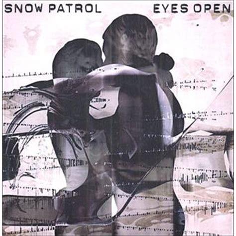 open snow eyes open snow patrol cd album achat prix fnac