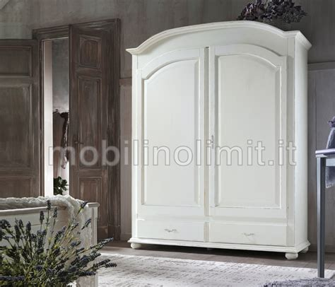 armadi shabby armadio shabby 2 ante 2 cassetti bianco spigolato