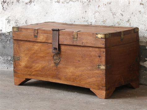 wooden trunk wooden chest sold scaramanga