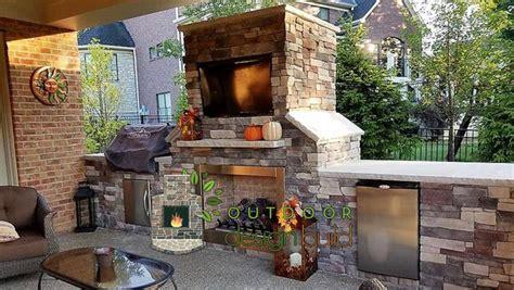 outdoor fireplace www outdoordesignbuild outdoor