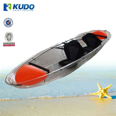 clear kayak kudo 3 39m clear kayak plastic transparent canoe for sale