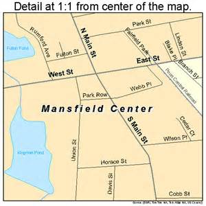 map mansfield mansfield center massachusetts map 2538230
