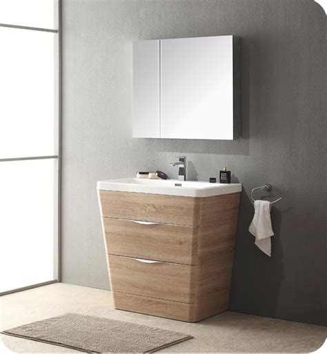 Modern Bathroom Vanity Cabinet by Fresca Fvn8532wk 32 Quot Modern Bathroom Vanity In A
