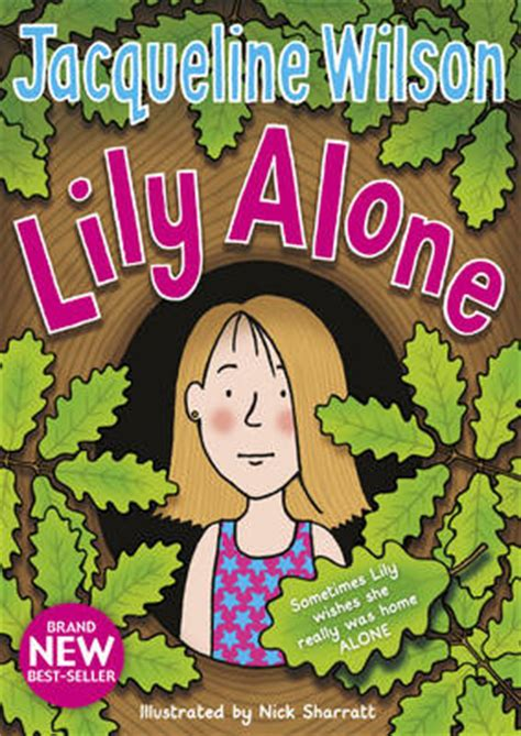 alone books alone by jacqueline wilson size book jacket