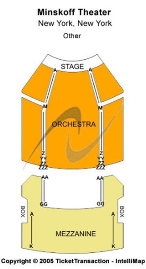 minskoff theatre seating plan new york minskoff theatre tickets and minskoff theatre seating