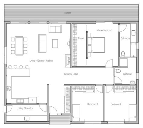 Small Modern House Plans One Floor best 25 one floor house plans ideas on pinterest house