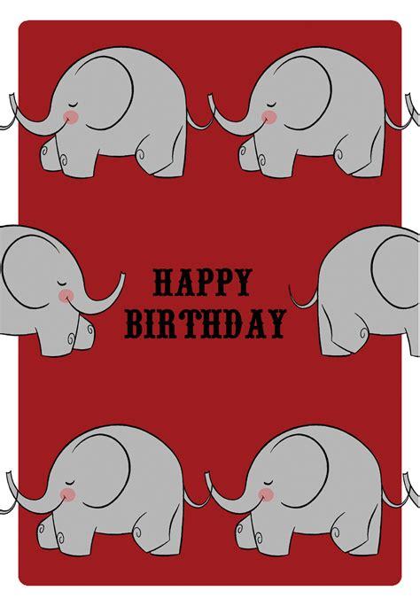 happy birthday birthday card   island