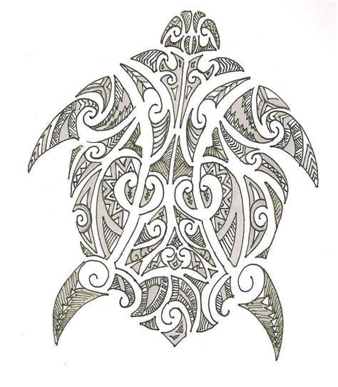 polynesian turtle tattoo designs hawaiian tribal designs polynesian turtle design by