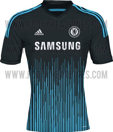Chelsea Home 1415 chelsea fc home away third kit 14 15