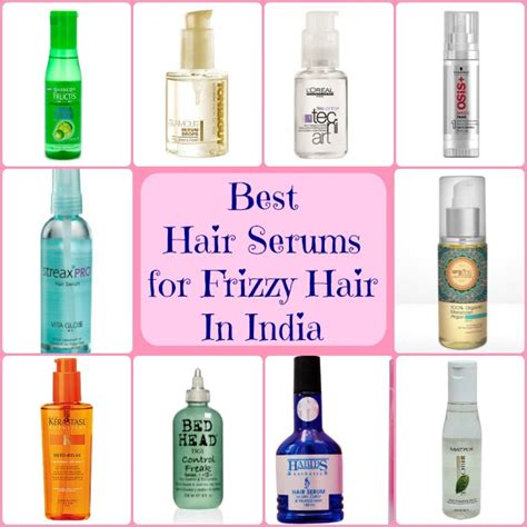 best shoo for frizzy hair in india best hair serums for