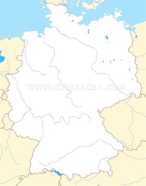 karta deutschland umriss deutschlandkarte