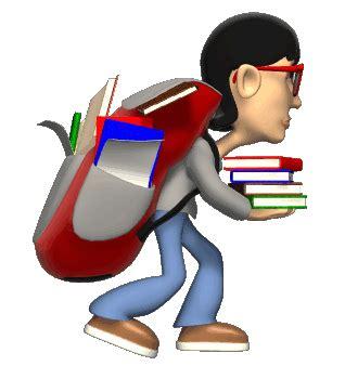 الحقيبة المدرسية والعمود الفقري