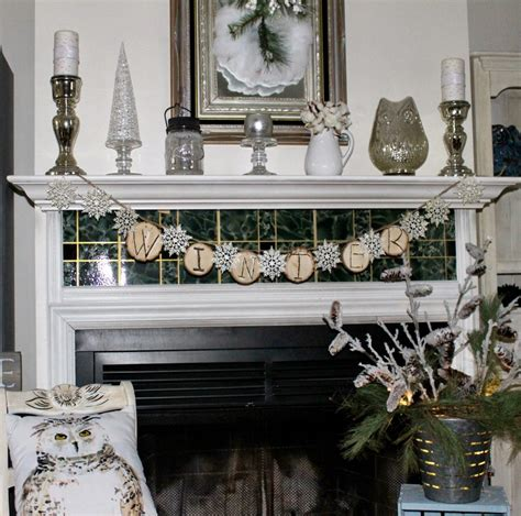 ideas for decorating winter mantel decorating ideas setting for four gallery image sifranquicia winter white mantel decorating ideas our crafty mom
