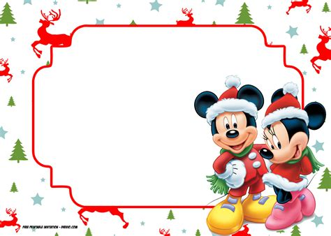 Mickey Mouse Card Template by Invitation Template Mickey Mouse Image Collections