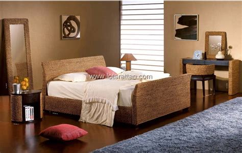 wicker bedroom rattan bedroom furnitures sets rattan beds rattan