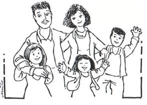 family coloring pages free coloring pages of family
