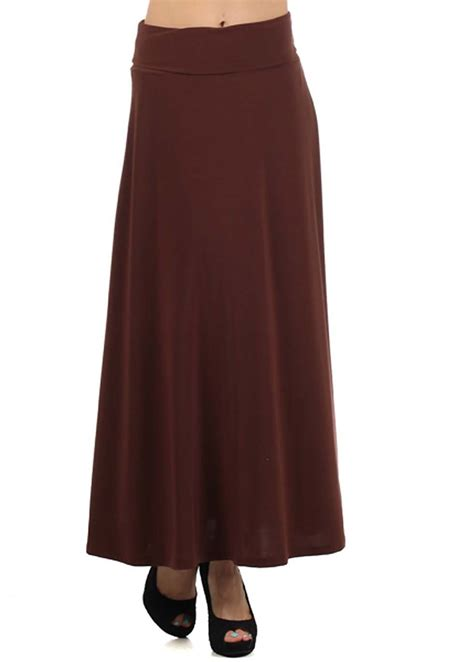Brown Maxi brown maxi skirt modli