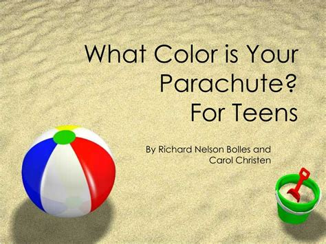 what color is your parachute for ppt what color is your parachute for powerpoint
