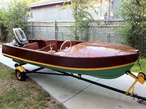 wooden scow for sale cadillac ladyben classic wooden boats for sale