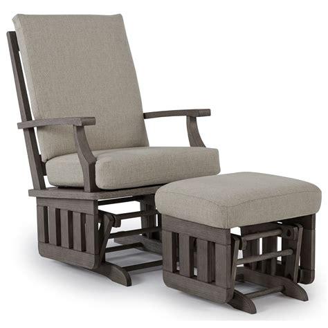 rocker and ottoman set best home furnishings glider rockers casual glide rocker