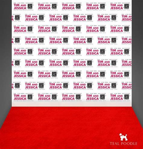 design backdrop booth custom wedding step and repeat backdrop for red carpet